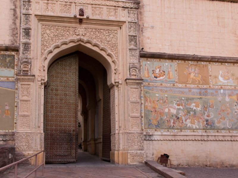 Jai pol in Jodhpur