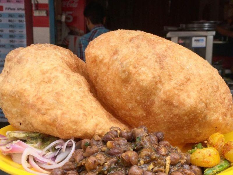Yummy Chole Bhature
