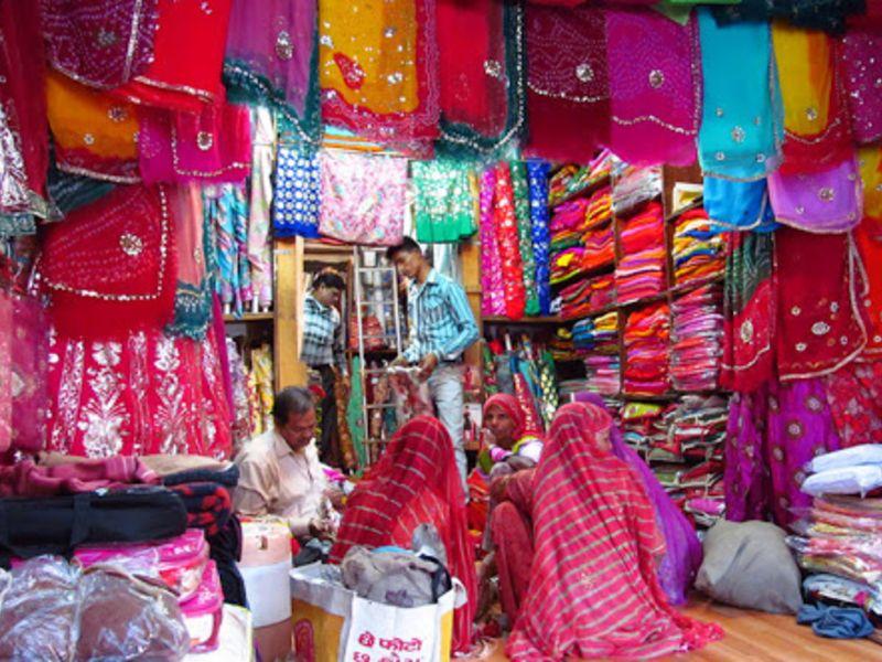 Kapraa Bazaar in Jodhpur