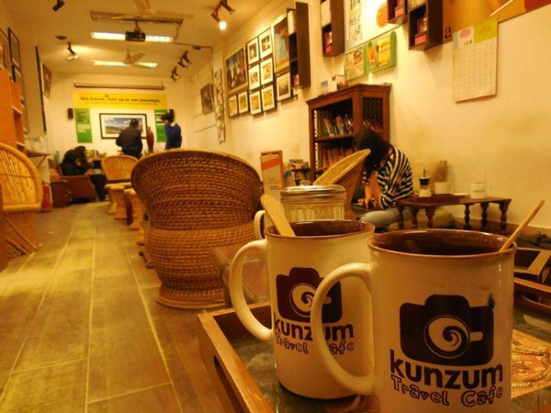Kunzum Travel Cafe in Hauz Khaz, Delhi