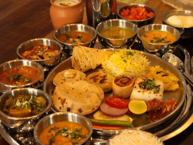 Rajasthani Thali in Jaipur