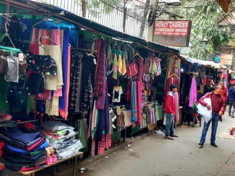Tibetan Market in North Delhi.
