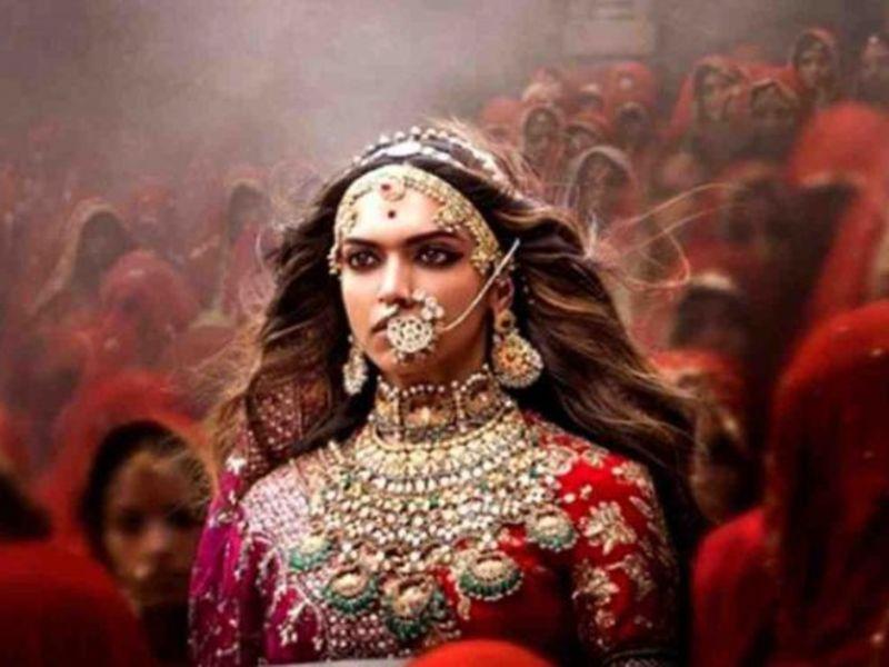 Deepika Padukone in Bollywood movie Padmavati.