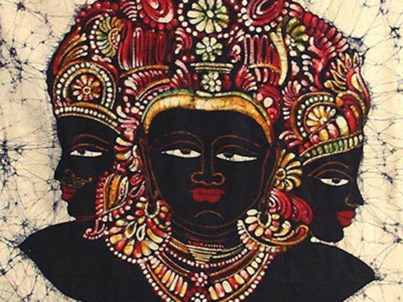 Batik Art - Native Art of West Bengal, India