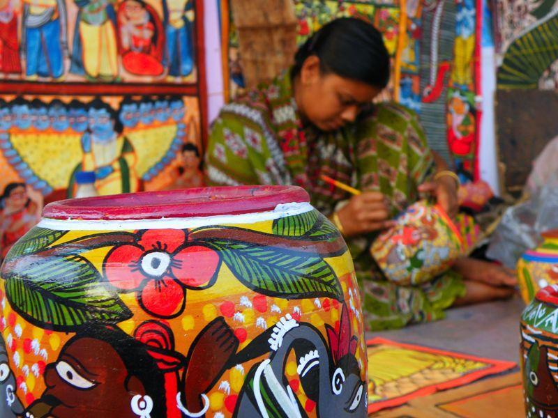 Bengal Pat - Native Art of Bengal