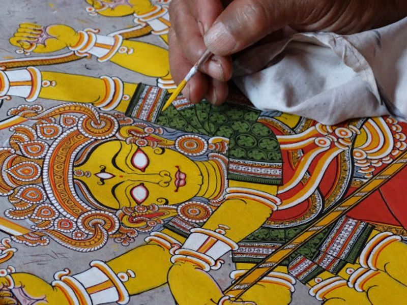 Patachitra - Native Art of Orissa