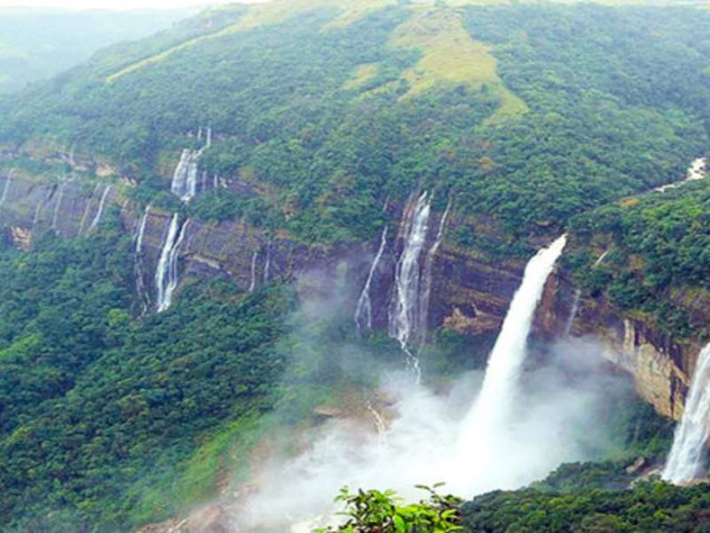 Shillong – Cherrapunjee – Mawlynnong, Meghalaya - Best Places To Visit In India In Summers.