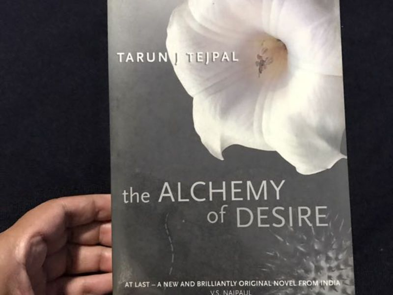 The Alchemy of Desire - Books That You Have To Read While You Are Traveling In India