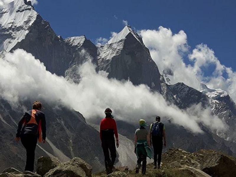 Gaumukh Tapovan Trek, Uttarakhand.