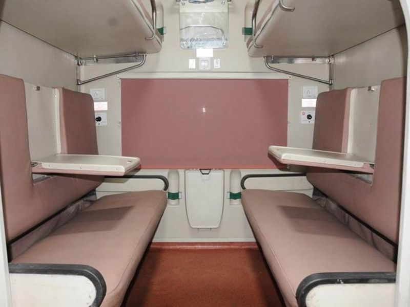 Indian Railways First Class AC Coach