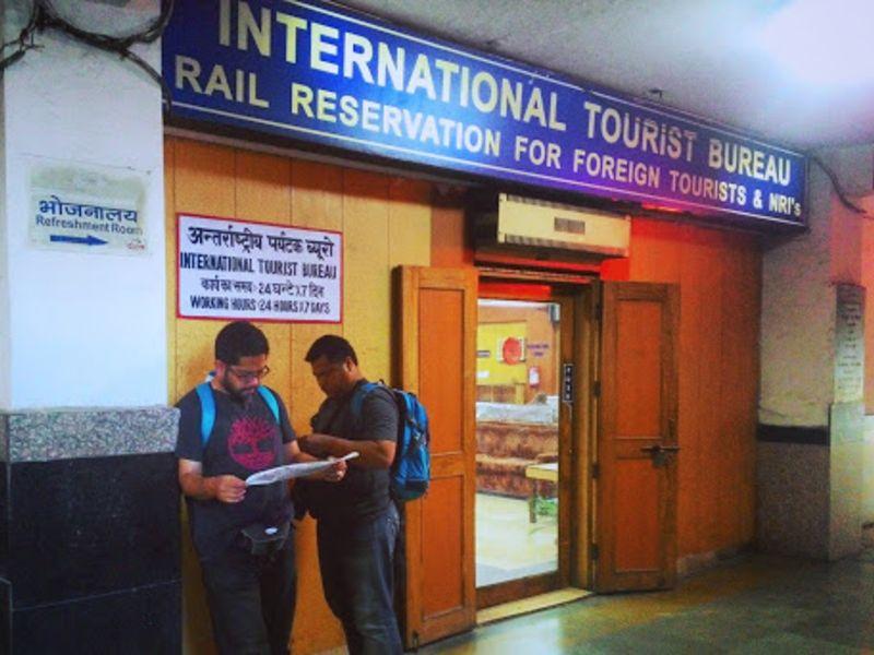 International Tourist Bureaus for ticket booking
