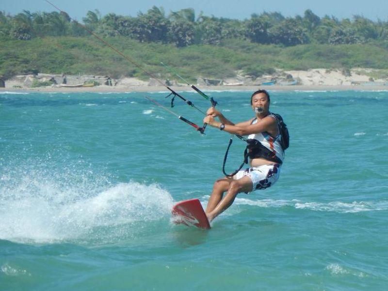 Kitesurfing in India