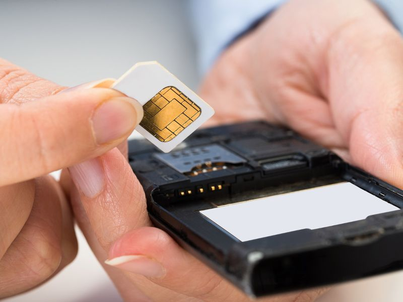 Getting in Sim Card in India