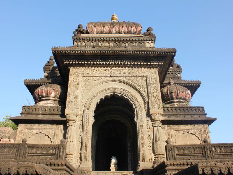 Rani Ahilyabai Holkar fort in Maheshwar.