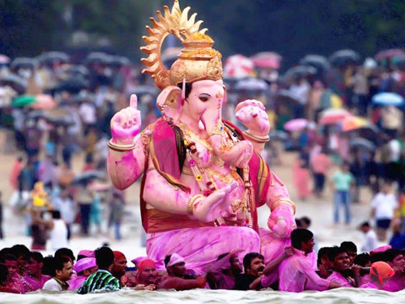 The festival of Ganesh Chaturthi
