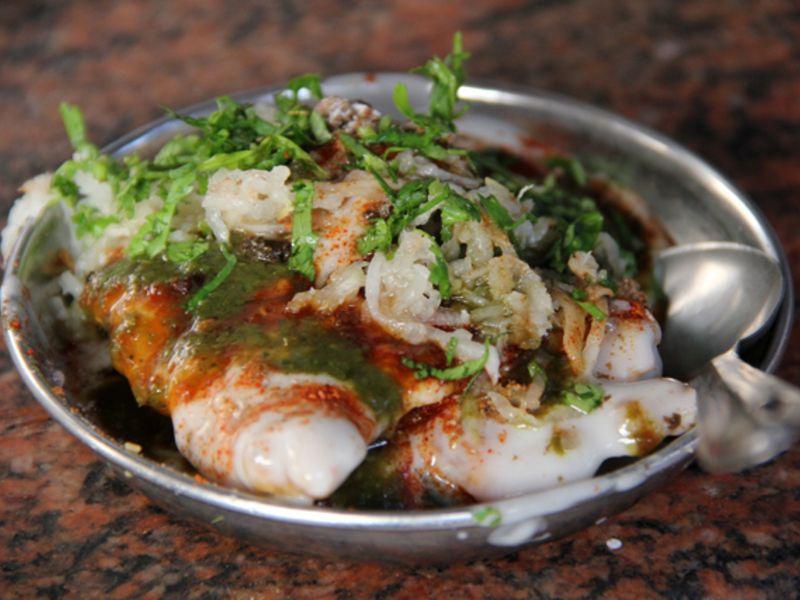 Street food in Varanasi - Chaat