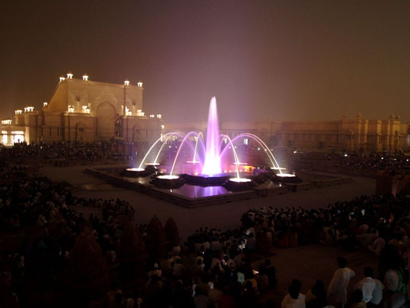 Akshardham Musical Fountain