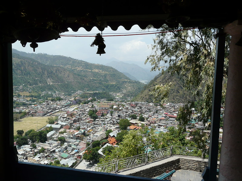 architecture in Naggar