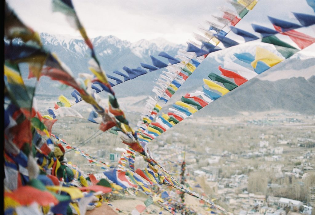 prayer flags, Stakna monastery, places to visit in Leh