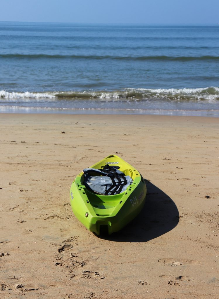 palolem beach, sea kayak