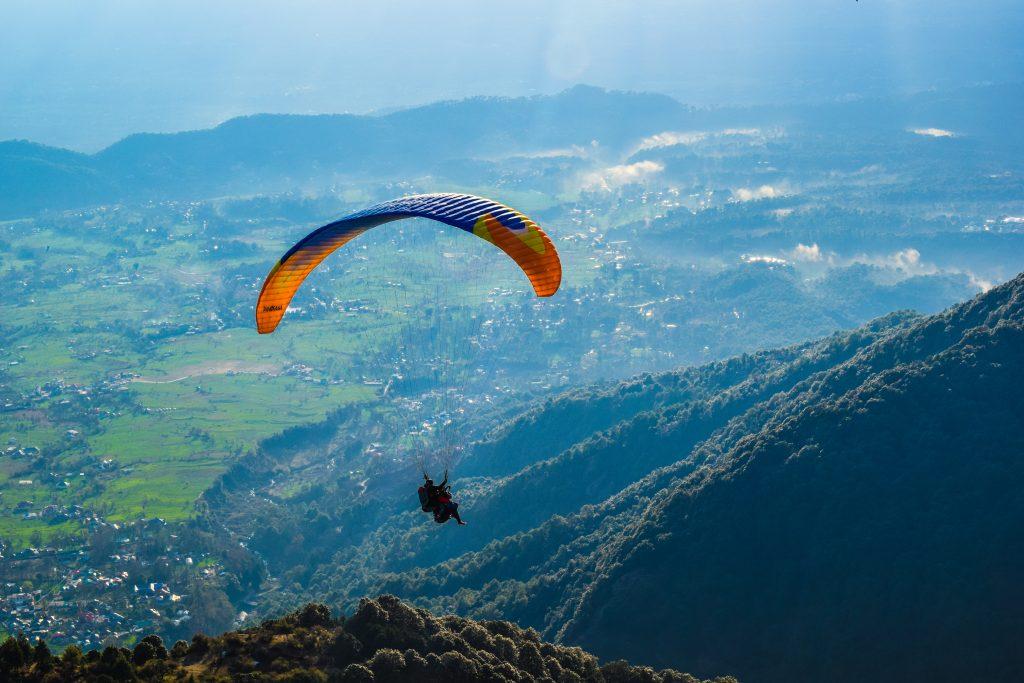 paragliding Bir, Himachal