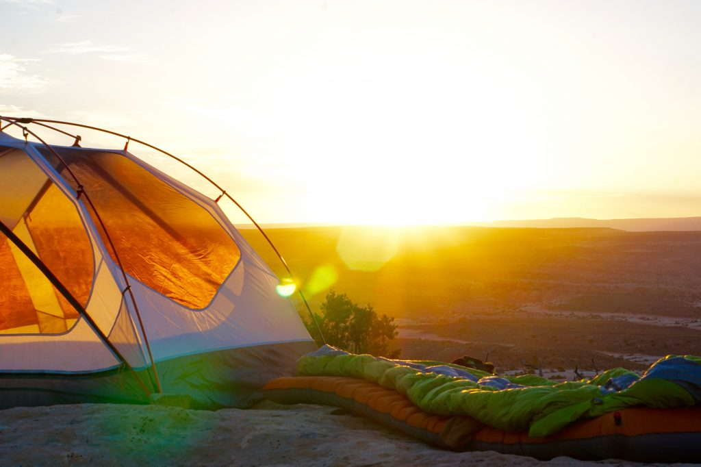 ultralight tent for a trip