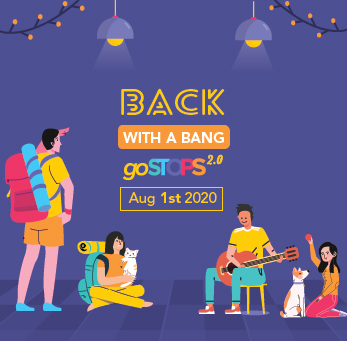 WELCOME BACK TO GOSTOPS 2.0